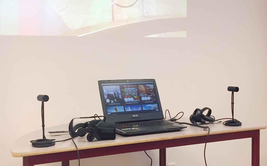 LIVE VR demonstrations 2018