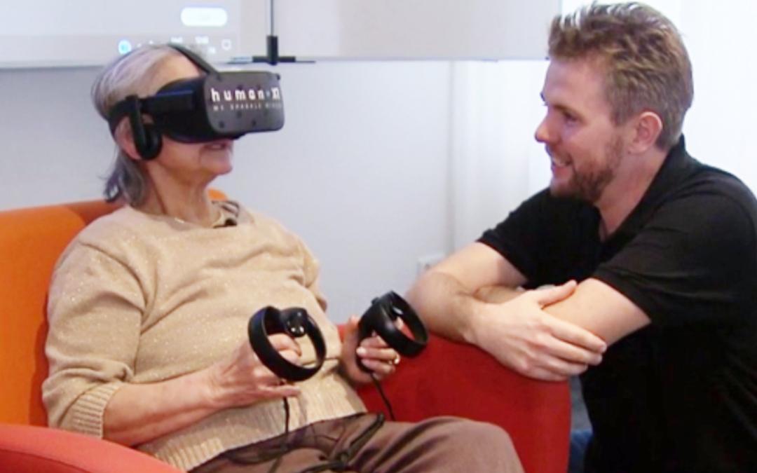 Our HumanXR  VR-platform