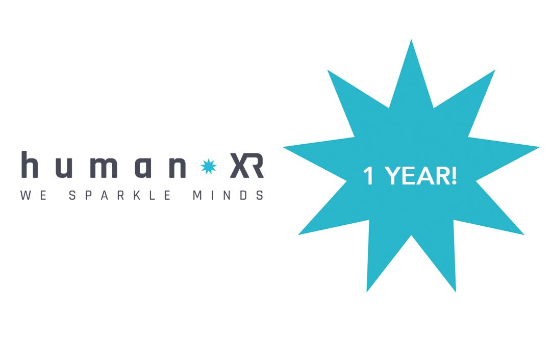 Ons HumanXR VR-platform bestaat 1 jaar!