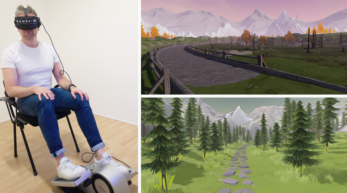 onderzoek virtual reality en fysiotherapie humanxr platform